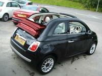 2010 Fiat 500C 1.2 Lounge Convertible ** £20 Tax / New MOT **