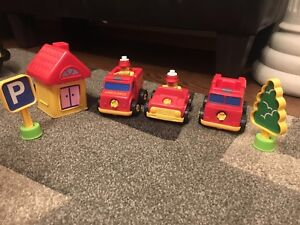 Break apart and build fire station set for $15