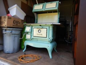 Peacock Woodstove made by Lunenburg Foundry