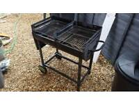 Large used barbeque