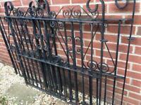 Double and single iron gates
