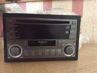 Subaru wrx sti kenwood original unit cd cassette radio player