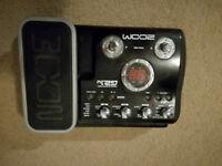 ZOOM G2.1u guitar multieffects pedal