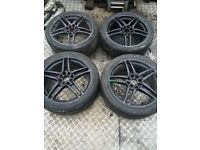 X4 Multi fit Vauxhall alloys and tyres