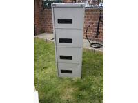 Filing Cabinet-4 Drawers, Metal, Large