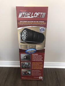 Support pliant pour pneus