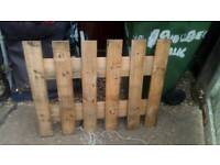 Ready made fence panels
