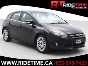 2012 Ford Focus Titanium - Leather, Sunroof, Navigation