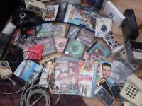 GAMES CONTROLLERS,,LOTS Clear furniture,CHESTS TABLES SOFAS,ELECTRICAL LOTSS.