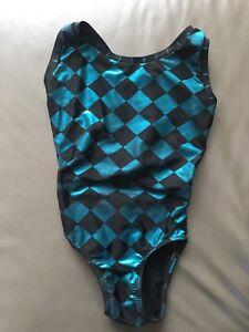 Girls gymnastics bodysuit size 8
