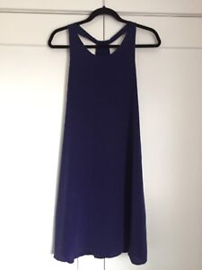 **Price Reduced** Never worn - Dark Purple Cynthia Rowley Silk D