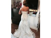 Wedding dress size 6,8,10 brand new from wedding dress factory outlet