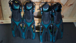 Body Glove Snorkelling fins / palmes *pick-up Chelsea or Ottawa*