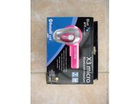 X3 micro bluetooth headset - HOT PINK