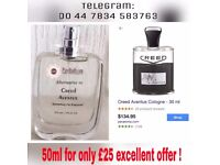 CREED AVENTUS PERFUME SPRAY ALTERNATIVE