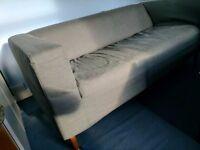 Grey Sofa - £20 - IKEA - Used/Good Condition