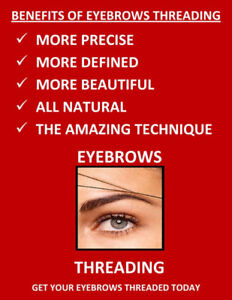 Eyebrow Threading and Waxing at very Low rates!
