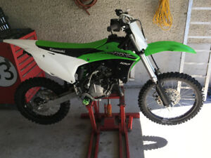 2015 kx 100for sale