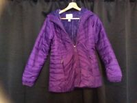 Girls Lands End coat age 10-12 years