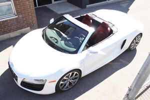2012 Audi R8 5.2 V10 SPYDER (Convertible) FOR SALE!