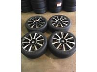 """20"""" Alloy Wheels And Tyres Vw T5/T6 Transporter and Range Rover."""