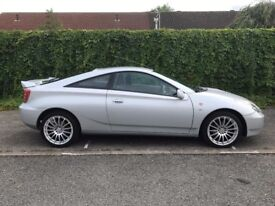 Gen 7 2003 Toyota Celica 1.8 16v VVTi 2 door Coupe, Lovely Car and Well Looked after