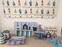 Boys seaside bedroom bundle