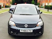 DIESEL VW GOLF PLUS GT TDI 5 DOORS MANUAL WITH VERY LOW MILEAGE