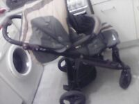 Hi I have a bebecar army style buggy