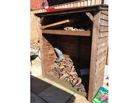 Wooden woodstore