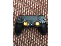 PS4 Controller with metallic analogue sticks
