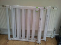 2 Mothercare safety stair gates