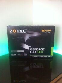NVIDIA GRAPHICS CARD ZOTAC AMP EDITION GTX 980