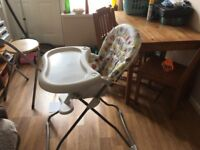 High chair in good clean condition