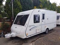 2010 Compass Corona Club 474 4 Berth caravan FIXED BED MOTOR MOVER Bargain !