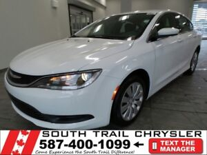 2016 Chrysler 200 LX *CONTACT TONY FOR MORE INFO*