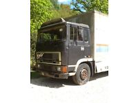 Erf lorry and generator