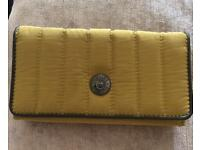 Kipling Yelina C Large Wallet Mustard Unused