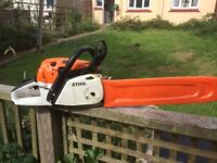 Stihl 261c chainsaw