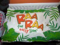 Raa Raa The Noisy Lion Reversible Kids Bedding Set Single