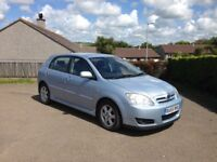 2006 Toyota Corolla D-4D 2L, Taxed, MOT, Air Conditioning, Electric Windows. Great condition.