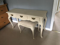 Bedroom Dressing Table and Stool