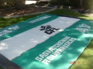 Saskatchewan Roughriders Custom Outdoor Mat