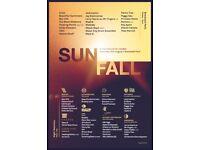 1x Sunfall Festival Day Ticket - £45 - Brockwell Park
