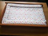 Cot Top changer with mat