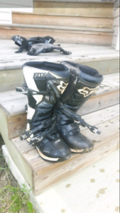 Size 9 fox dirtbike boots