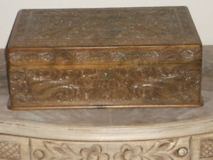 Jewelry Box - hand carved in Nepal