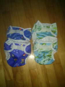 Size Small Bummies Super Whisper Wrap (Set of 4)