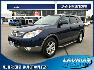 2011 Hyundai Veracruz V6 FWD GL Auto - 1 owner / Power sunroof