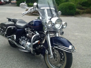 1999 Road King $7,500 or trade plus cash for offshore boat.